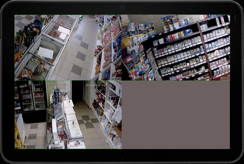 Kamera rendszer üzlethelységekbe