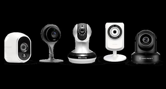 Beltéri biztonsági kamera otthonra