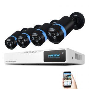 2 Megapixel AHD biztonsági kamera rendszer