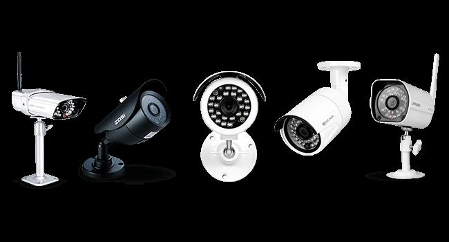 otthoni biztosági kamera