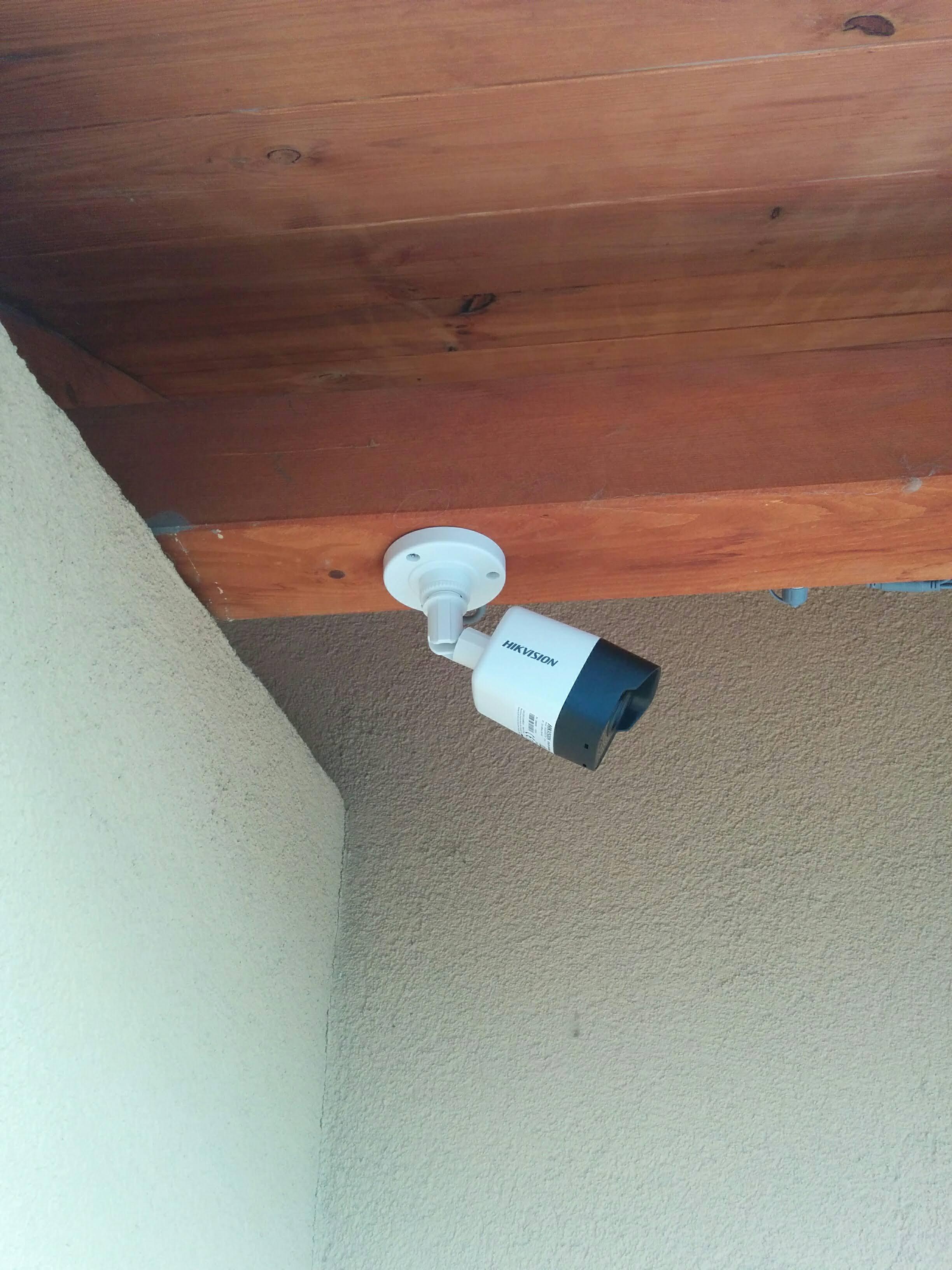 4MP Hikvision kamera