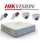 Hikvision AHD kamera szett