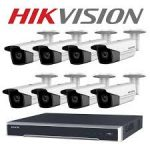 hikvision 8ch AHD kamera szett
