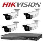 Hikvision ahd biztonsági kamera szett