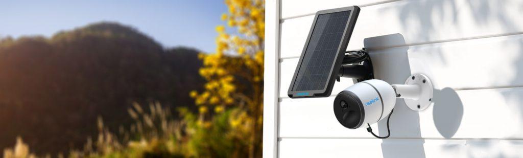 Akkumulátoros kamera napelemmel